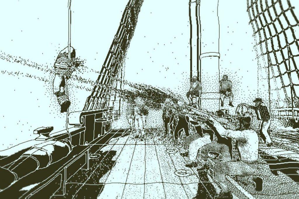 Otafu Susume 17 - Seasick on Murder Boat (Return of the Obra Dinn)