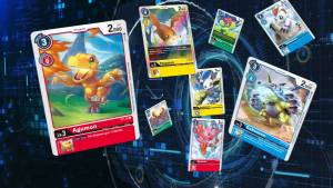 Digimon card game cards in English
